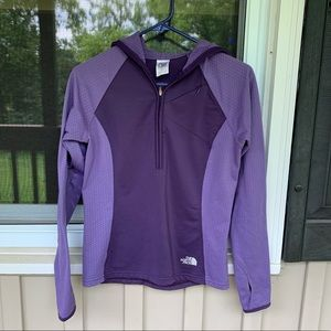 North Face 1/2 zip